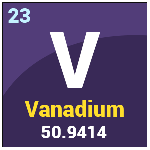 Image result for VANADIUM ELEMENT